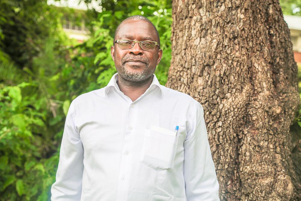 Walter Mupangwa (CIMMYT). Photo credit: Bevin Bhoke/IITA.
