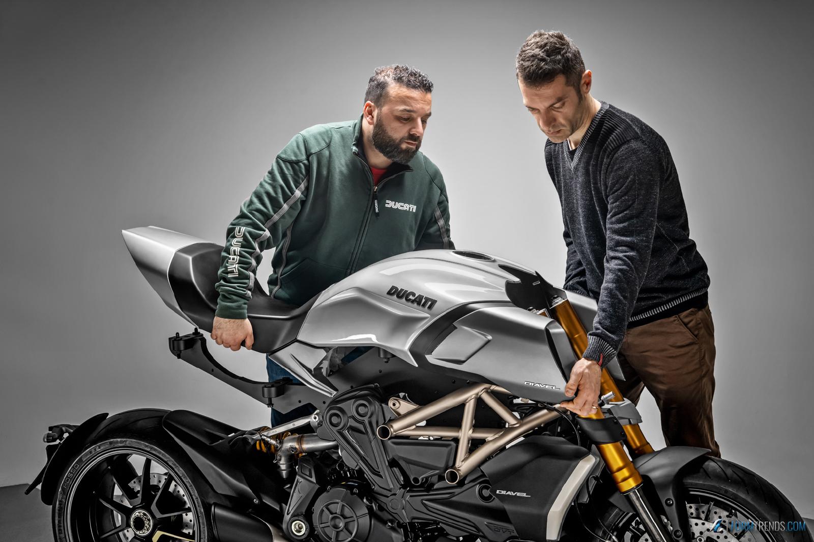Designing the Ducati Diavel 1260