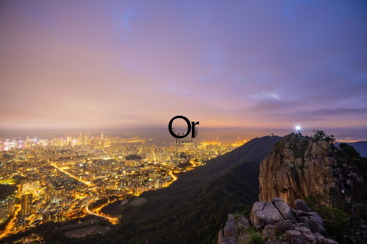 香港攝影景點|爬上獅子山眺望整片香港夜景,維港九龍盡在眼前,帶著獅子山精神來香港挑戰獅子山吧!