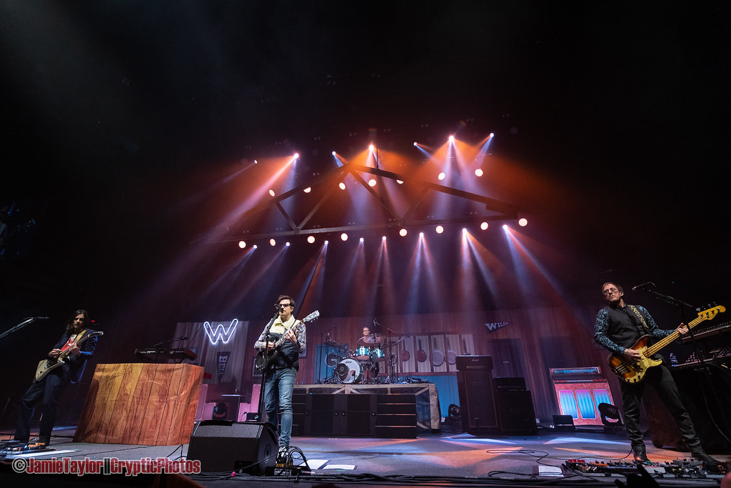 American rock band Weezer performing at Rogers Arena in Vancouver, BC on April 7th, 2019 © Jamie Taylor