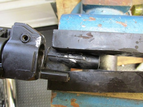 Freeing Master Cylinder Assembly From Handlebar Control Housing
