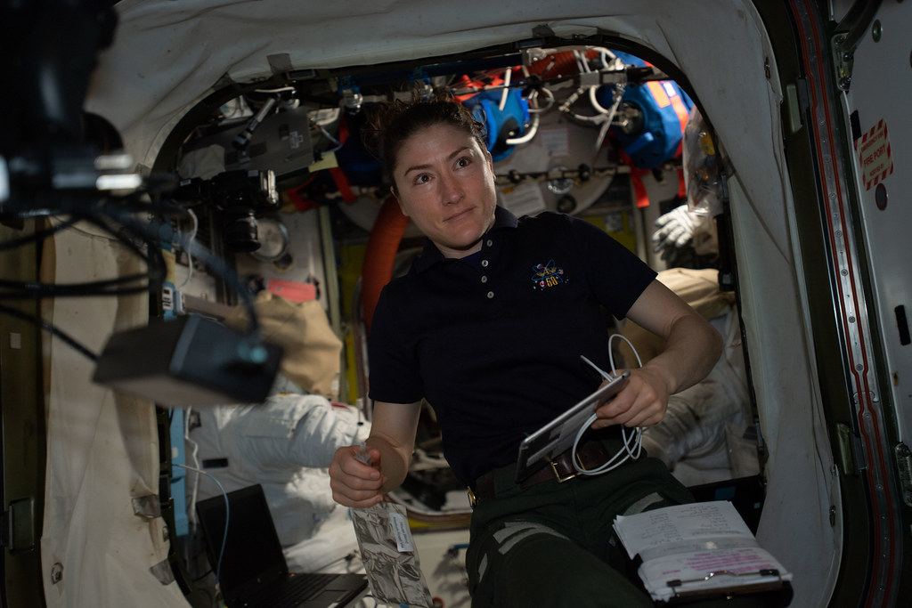 Expedition 59 Flight Engineer Christina Koch