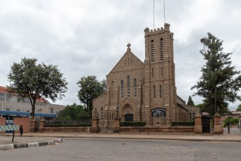 De Heilige Maria kerk in Bulawayo.