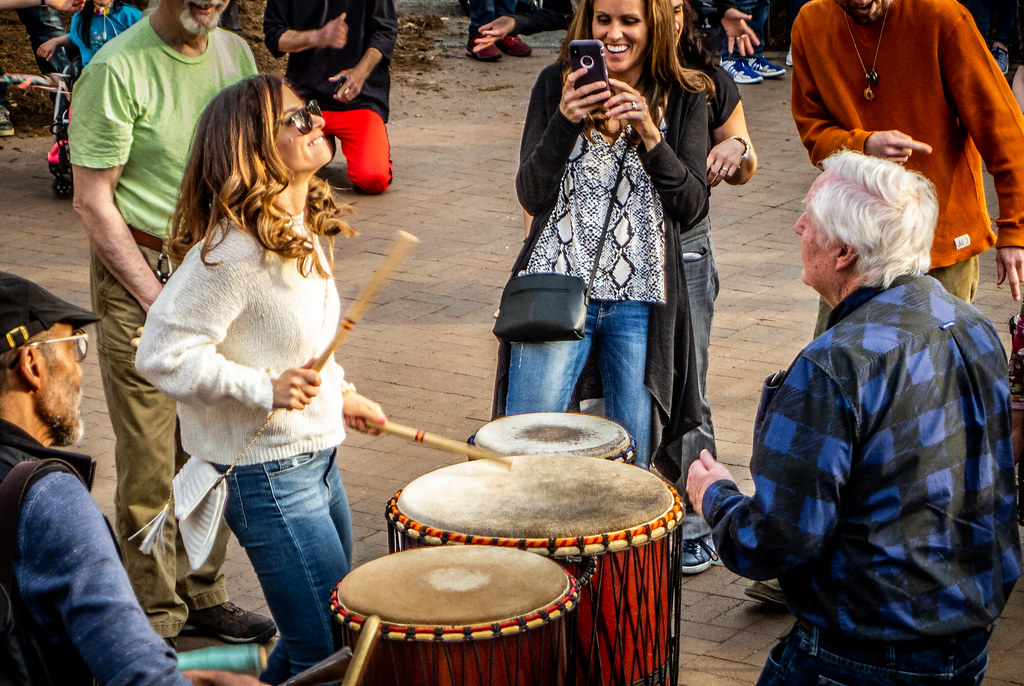 Asheville Drum Circle-35