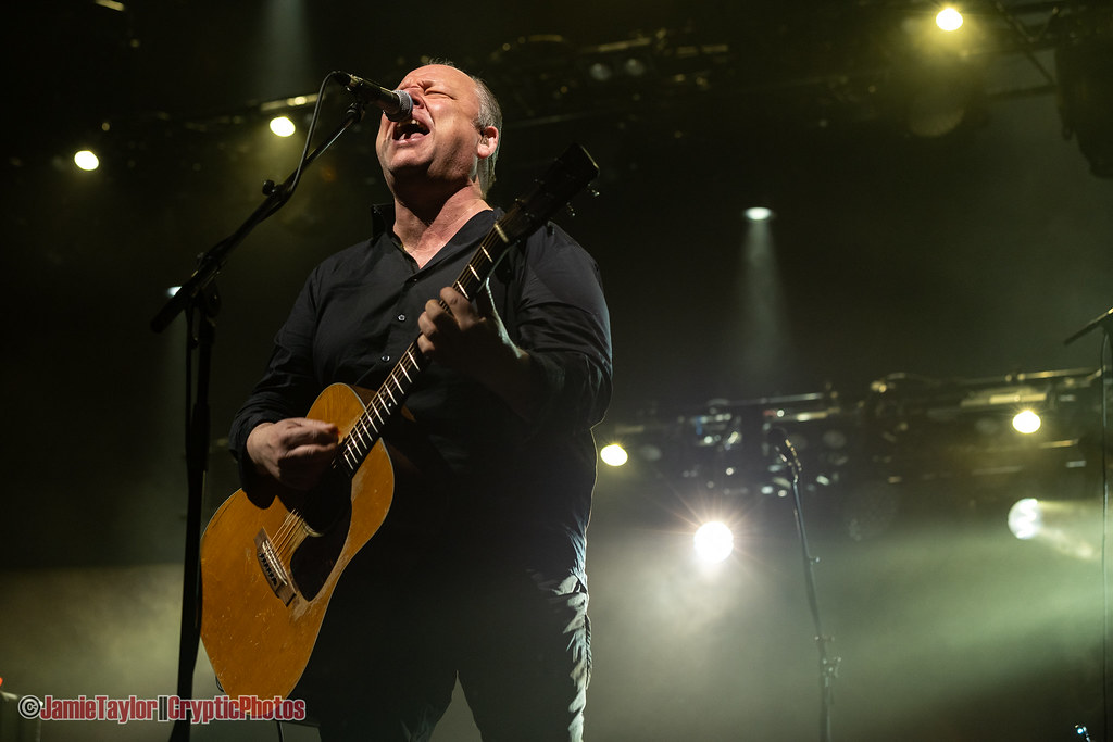Musician Black Francis of Pixies performing at Rogers Arena in Vancouver, BC on April 7th, 2019 © Jamie Taylor