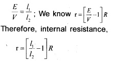 Plus Two Physics Chapter Wise Previous Questions Chapter 3 Current Electricity 11