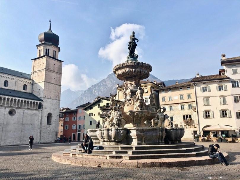 Cosa vedere a Trento - Fontana del Nettuno