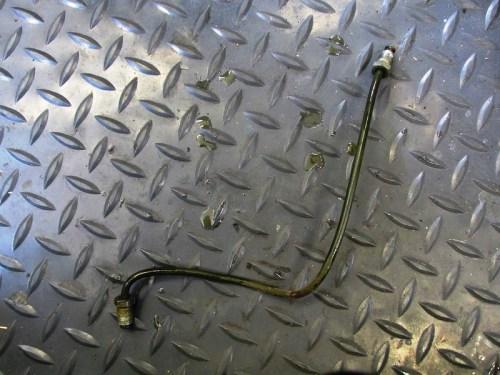Front Steel Brake Line To Splitter-Manifold