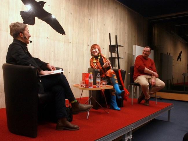 Janina Orlov, Rosa Liksom och Mats Granberg