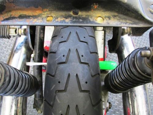 Blocking Rear Wheel From Rotating