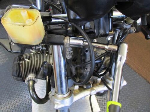 Remove Front Master Cylinder Brake Line