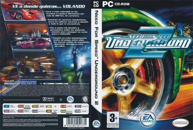 تحميل لعبة Need For Speed Underground 2 للكمبيوتر برابطين