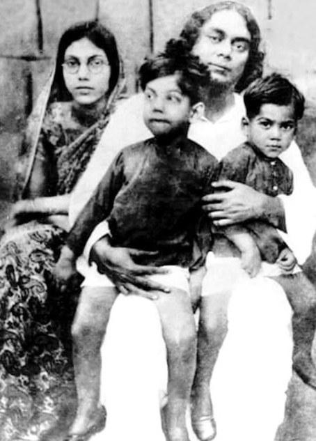 Bengali legendary poet Kazi Nazrul Islam with his family   Flickr