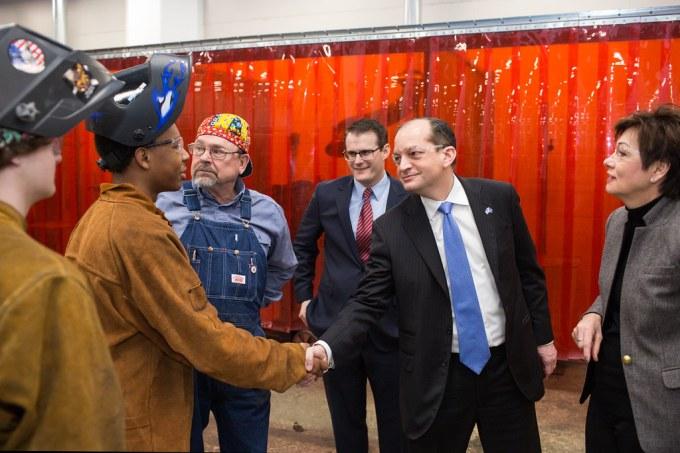 Acosta Visits Central Campus U S Labor Secretary Alex Aco Flickr