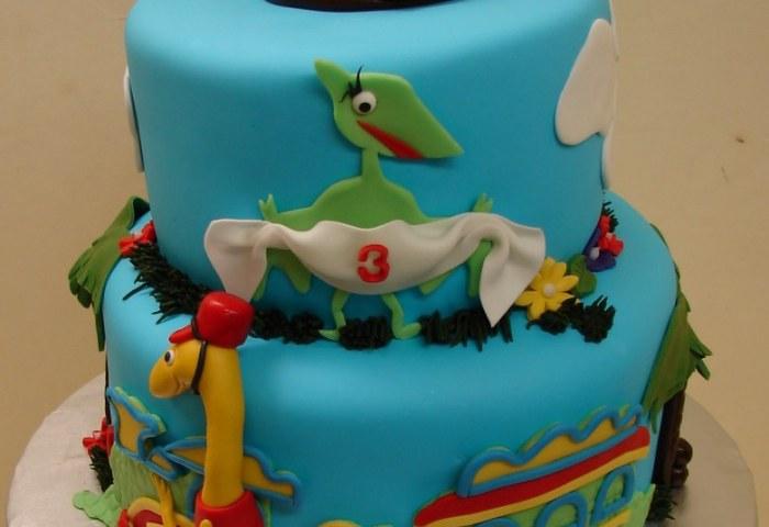 Dinosaur Train Friends Birthday Cake Dinosaur Train Fr Flickr