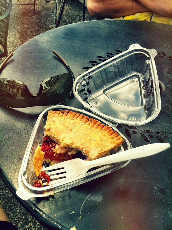 @pieladynyack thanks for the tasty Strawberry Cherry Pie! Got my on bike to top of Bear Mtn!