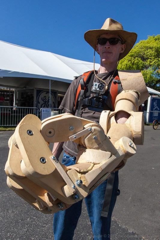 Wooden Bionic Arm