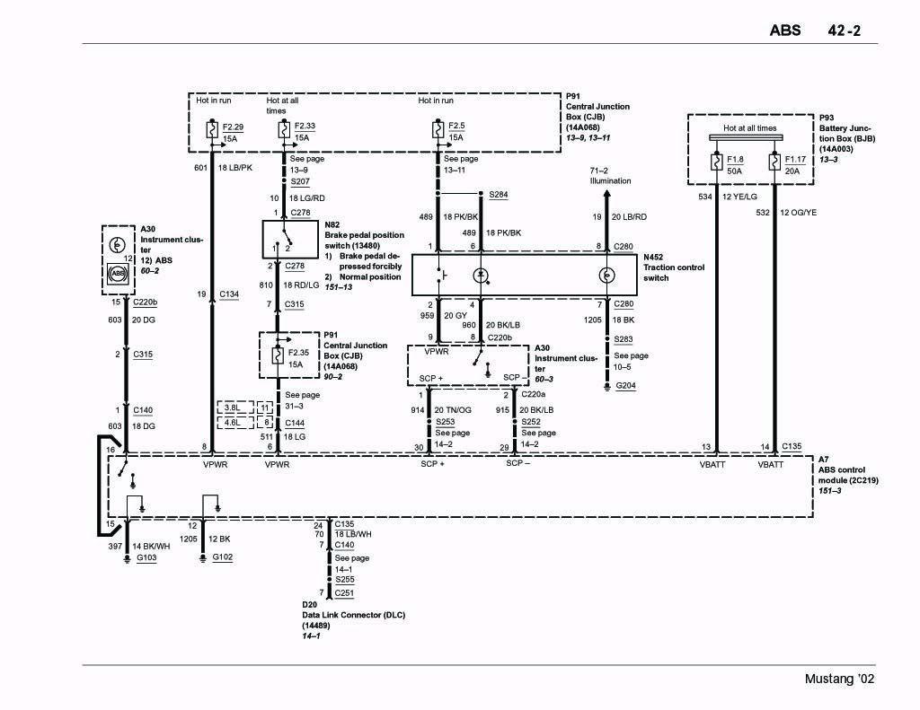 Mustang Abs Wiring Diagram