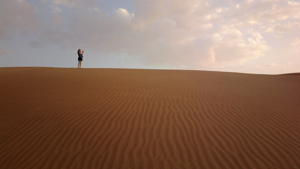 Nelli on the dune