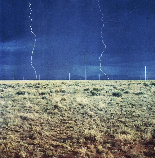 Walter De Maria, The Lightning Field, 1977