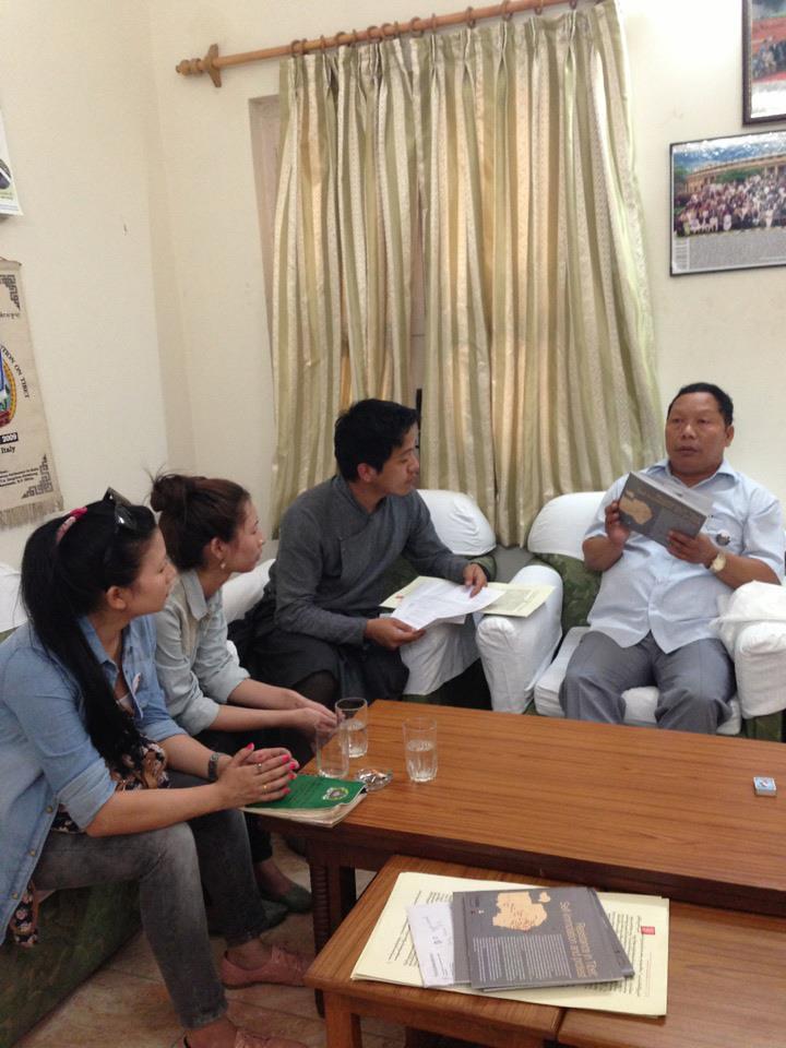 MP. Shri Takam Sanjoy
