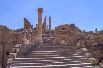 Dit is de tempel van Zeus, althans wat er van over is.