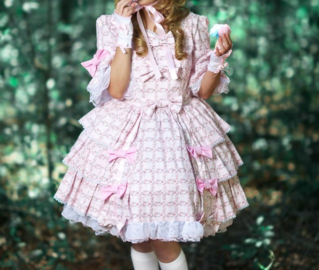 Sweet Lolita Ii Model Mua Miki Sarroca Wardrobe Elegy Flickr
