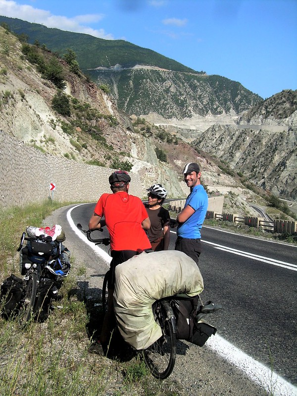 A Frenchman and a Brit one their way to Europe after a tour of Central Asia by bryandkeith on flickr