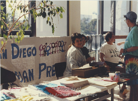 Lesbian Community Cultural Arts (LCCA), Cultural Weekends SDSU:    Veronica Cunningham and Cheryl Hughes.