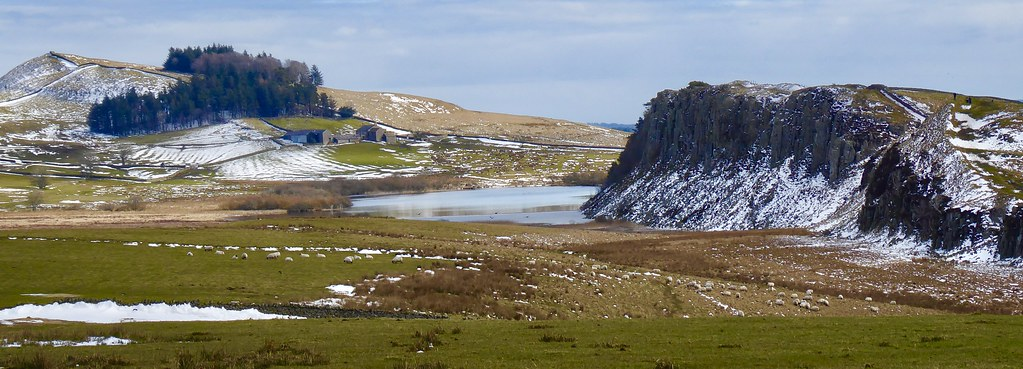 Hadrians Wall at Housesteads