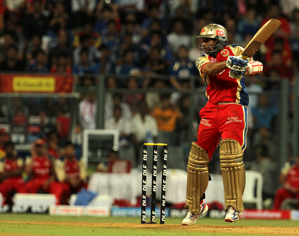 IPL 2012 Match 54 MI v RCB | Royal Challengers Bangalore pla… | Flickr