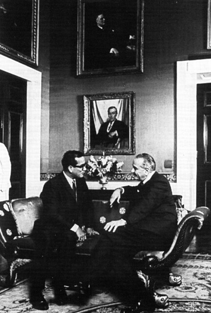 Gov. Bordallo With President Johnson