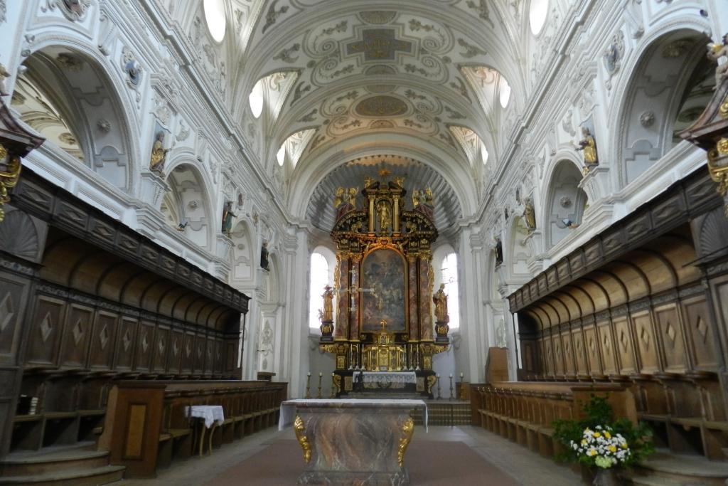 Steingaden Iglesia de San Juan Bautista Baviera Alemania 04