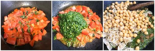 Spinach Pesto Pasta - edit