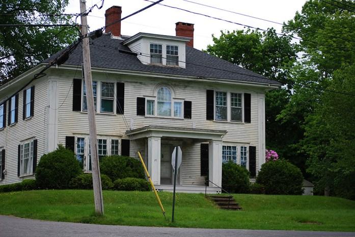 """Podría ser la casa del vampiro de """"Salem's Lot"""""""