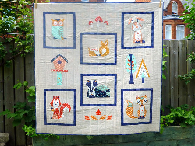 Woodland Friends Quilt (Popular Patchwork, Oct issue)