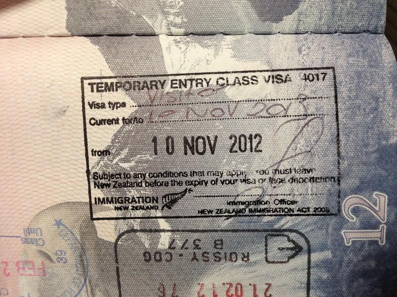 1 year NZ visa..!