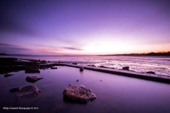Sunrise by Cramond Island