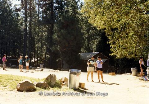 P024.236m.r.t Women standing along a trail.