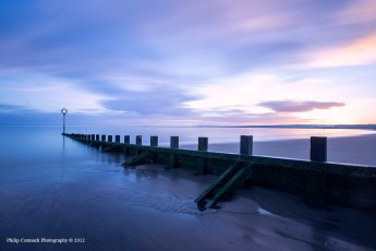 Portobello Beach at Sunrise