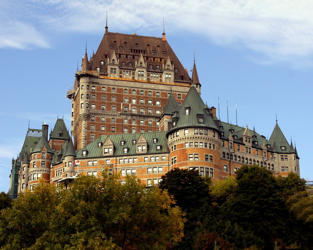 Chateau Frontenac Quebec City Canada Prayitno Thank