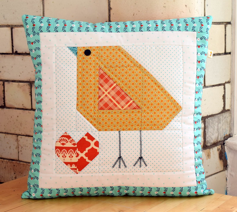 Easter Chick cushion