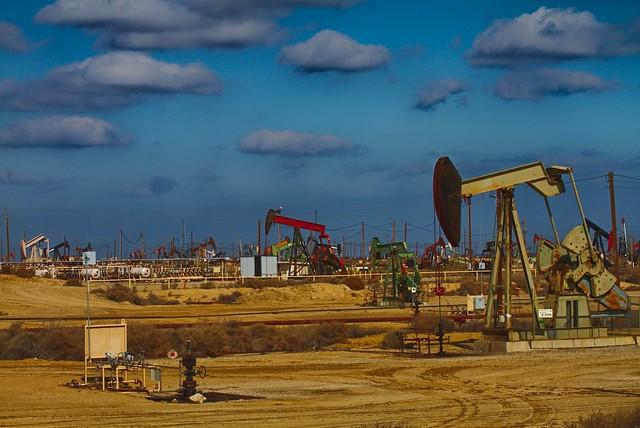 Oil wells in California