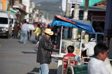 Street life in San Cristobal
