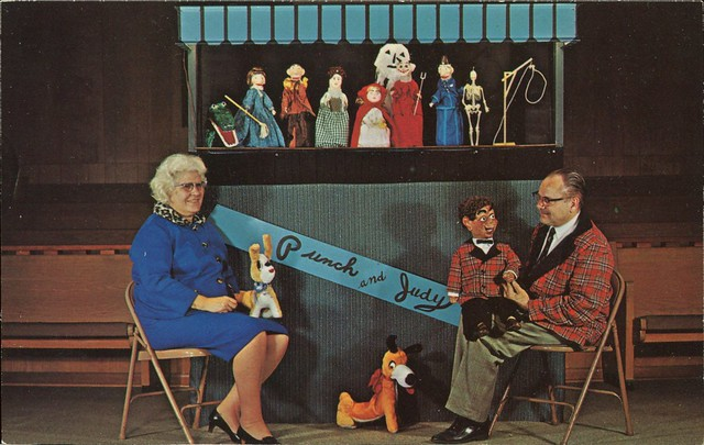 Mr. & Mrs. Ellis and The Ellis Puppets, Dedicated to God to Show Boys and Girls How They Can Go to Heaven the Way the Bible, God's Word Says, and Not the Way Man Says. 29650 Ryan Rd., Warren, Michigan
