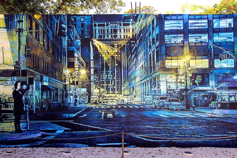"""Brooklyn Street Art"" by Logan Hicks."