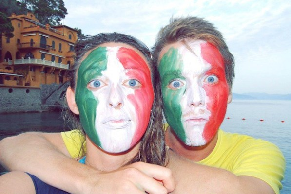 Two Hitchhikers in Italy