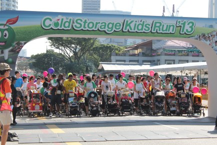 Cold Storage Kids Run 2013