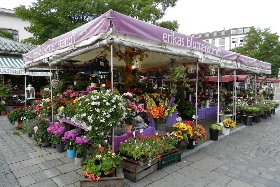 Munich Alemania-Mercado al aire libre 09