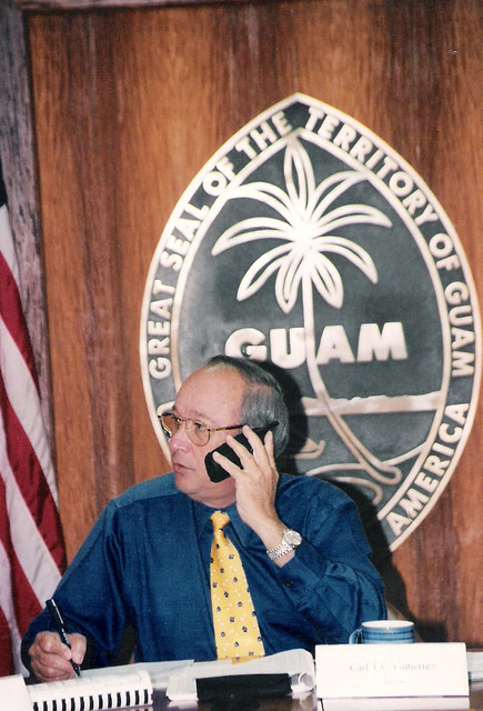 Governor Carl Gutierrez